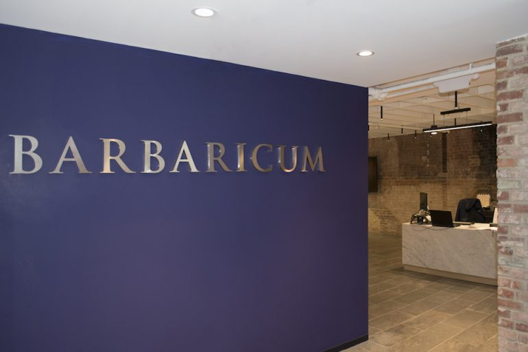 Barbaricum office entrance